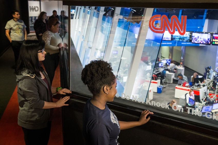 Show item 6 of 6. CNN Studio Tours