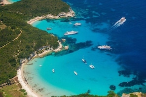 Paxoi, Antipaxoi and Blue Caves Cruise from Corfu