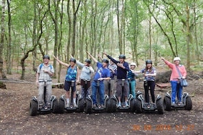 Segway Tour in the Cheshire Woodlands