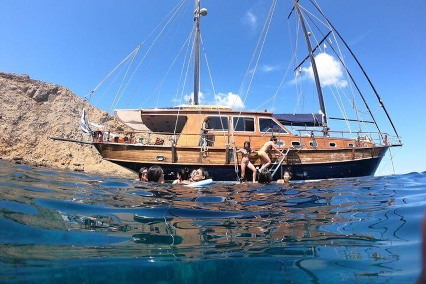 Mykonos sail cruise Atlantis