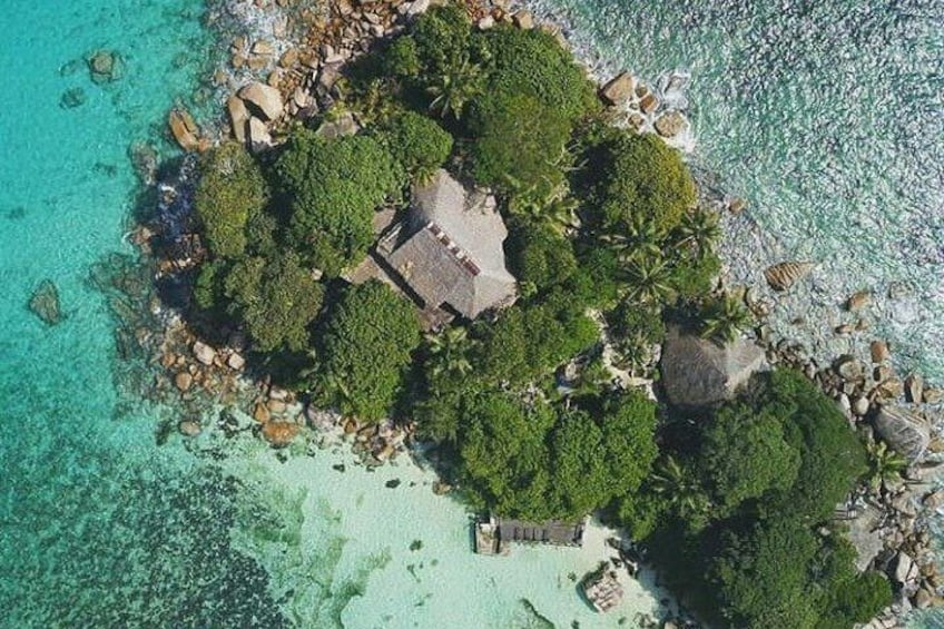 Relax, Lunch & Snorkeling in Chauve Souris (A Private Island on Praslin Island)