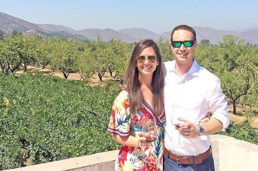 Full-Day Wine Tour from Santiago with Sommelier Guide