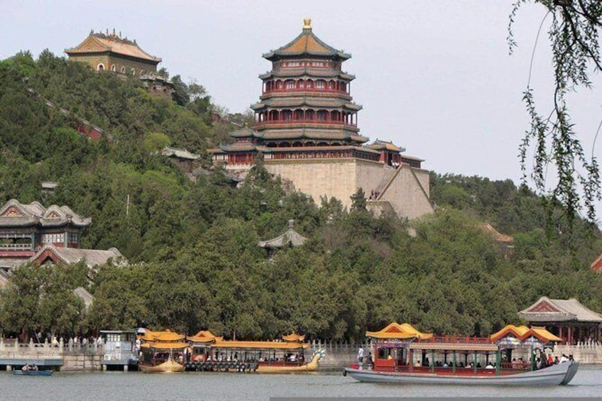 Show item 4 of 7. Private Beijing Layover Tour: Mutianyu Great Wall, Summer Palace