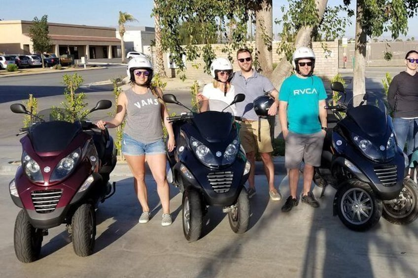 Show item 1 of 15. Modern Piaggio MP3 Luxury Scooter Rentals