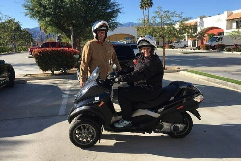 Show item 3 of 10. Modern Piaggio MP3 Luxury Scooter Rentals