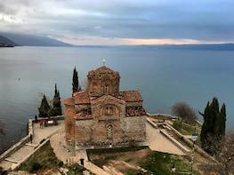 Ohrid (UNESCO) – Lake & Town from Tirana
