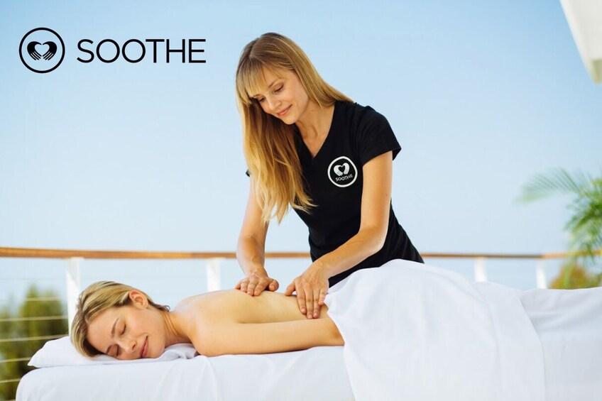 Show item 3 of 2. Spa-Quality On Demand Massage - The Bronx