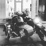 Private Sidecar Tour of Deauville by Night