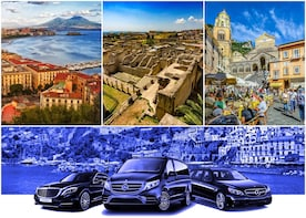 Transfer from Naples to Amalfi (or reverse) via Ercolano 2hr