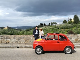 Grand Tuscan Vintage FIAT 500 Tour from Florence