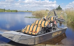 PRIVATE EVERGLADES AIRBOAT RIDE/TO 7 PASSENGERS