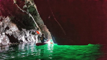 Sea Cave Kayaking Experience from Dublin