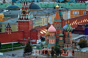 GERMAN Private Tour: Hidden Moscow & St.Basil's Cathedral