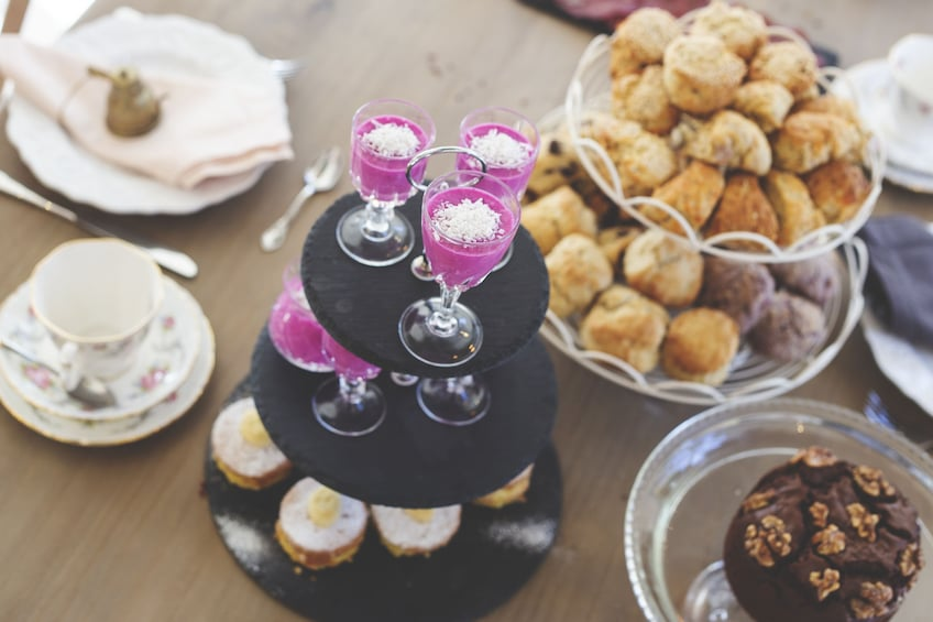 Traditional Afternoon Tea Experience/Baking Class