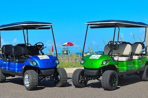 4-Hour Golf Cart Rental in South Padre Island (4 Passengers)