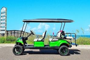 8-Hour Golf Cart Rental in South Padre Island (6 passenger)