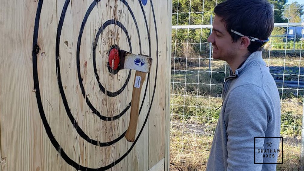 Show item 2 of 5. Axe Throwing Training