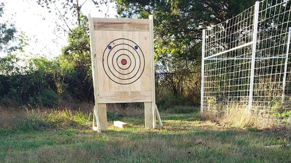 Show item 3 of 5. Axe Throwing Training