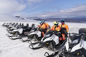 Into the Glacier: Ice tunnel and Snowmobile combo