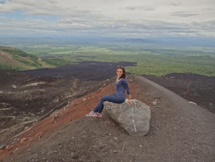 Show item 3 of 7. Private: Cerro Negro Volcano