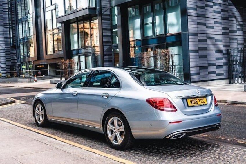 Show item 1 of 6. Dundee to Edinburgh Private Premium Transfer With Chauffeur