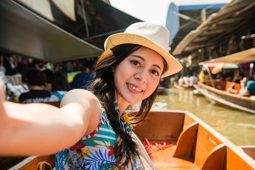 Show item 1 of 7. Private Guide Weekend Amphawa Floating Market Tour