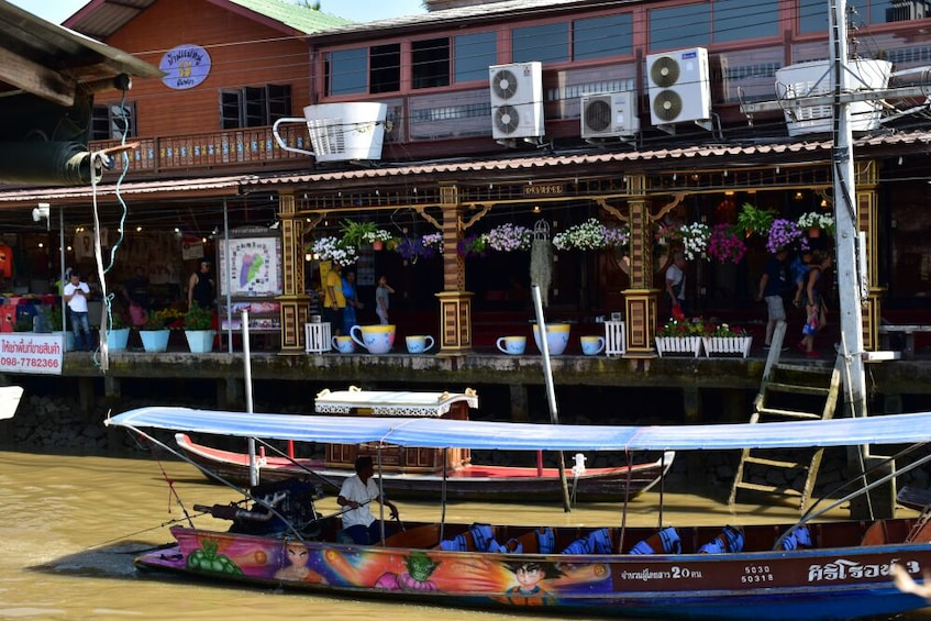 Show item 5 of 7. Private Guide Weekend Amphawa Floating Market Tour