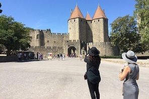 Half day tour to the Cité de Carcassonne and the Canal du Midi. From Toulou...