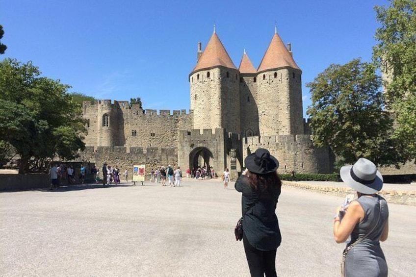Show item 2 of 6. carcassonne medieval town , cité de carcassonne