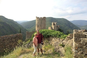 Half day tour to Lastours Castles. Private tour from Carcassonne and around...