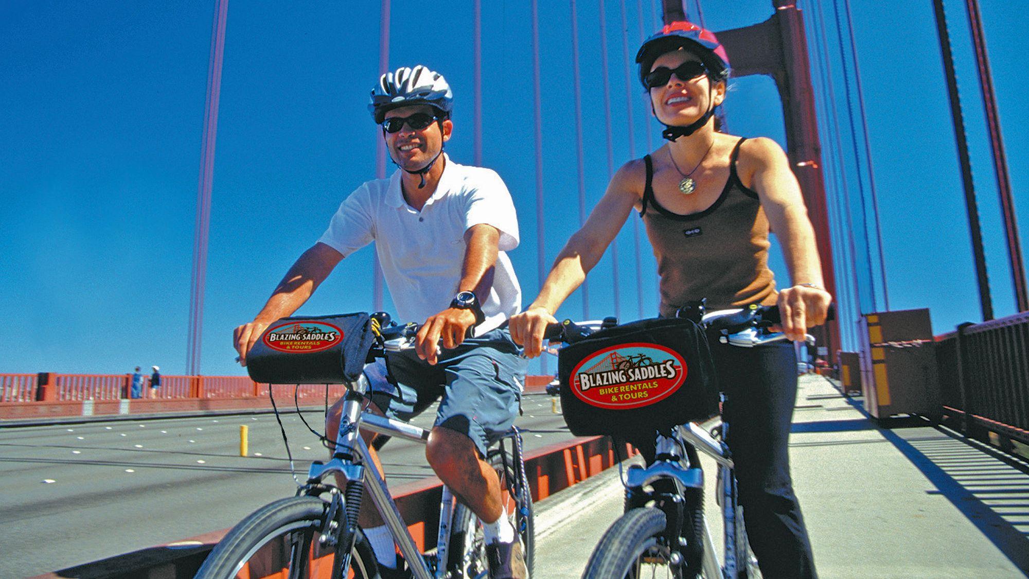 Tour in bicicletta guidato del Golden Gate Bridge