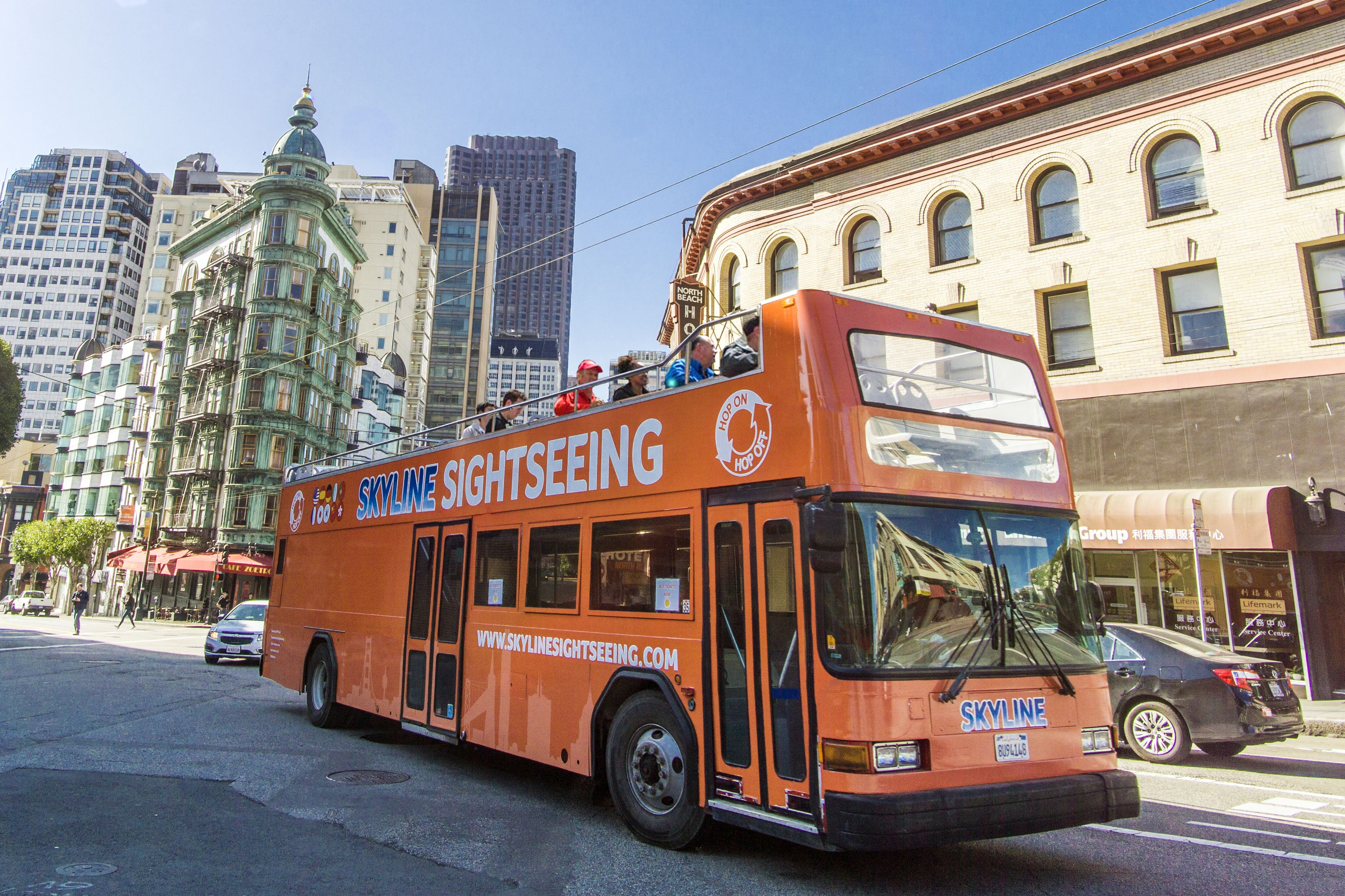 Hop-On Hop-Off Tours(Official city tour & Sausalito & Night)