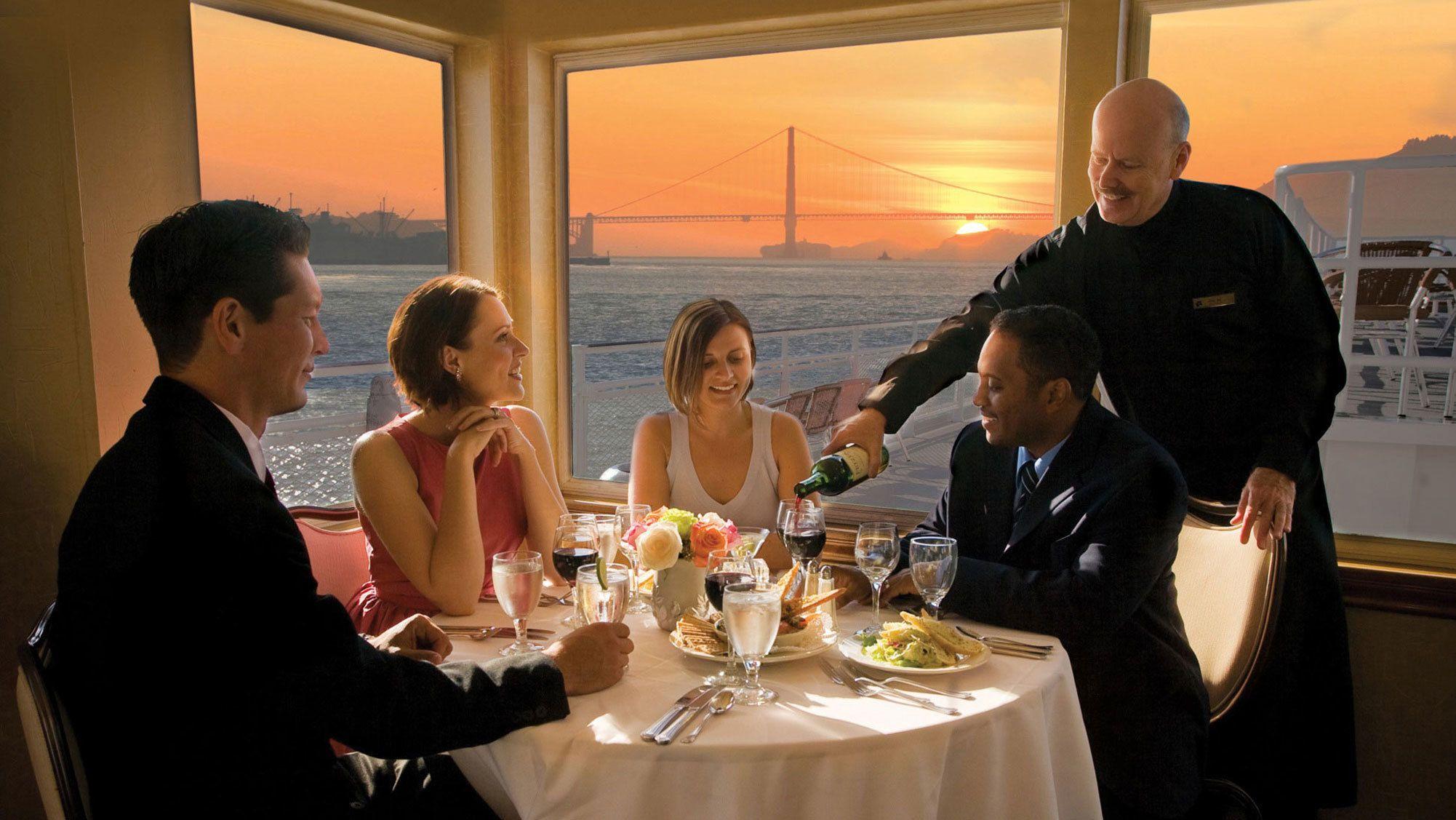 Croisière et dîner dansant dans la baie de San Francisco