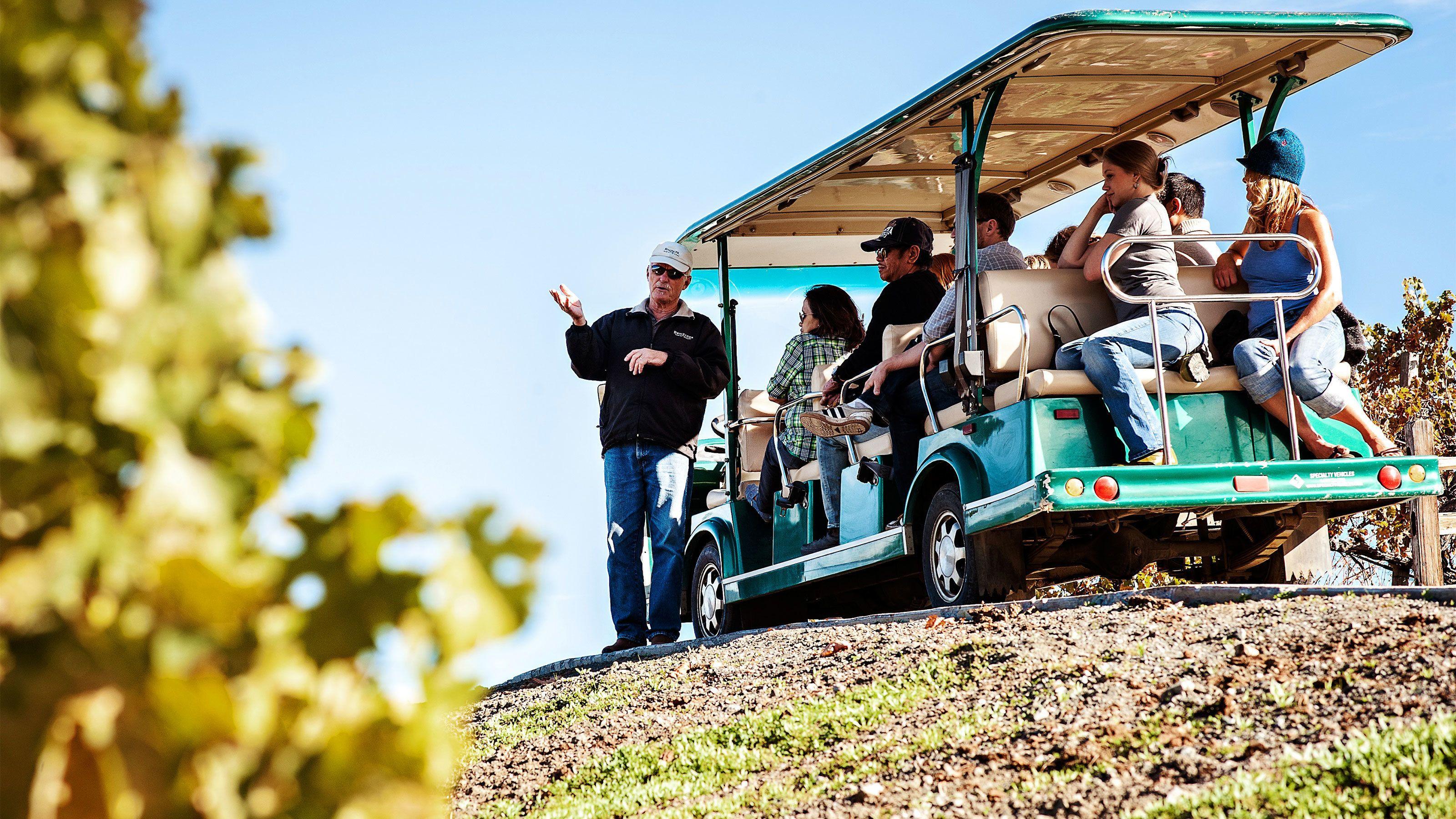 Rundtur i Napa och Sonoma med fokus på hållbar vinproduktion i världsklass