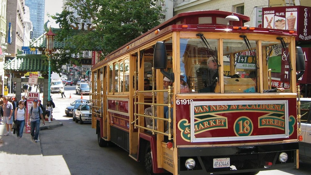 Show item 2 of 10. San Francisco Trolley