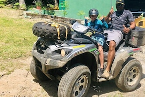 ATV Tour true midst of nature to the best locations, relax at Bacchus Coron...