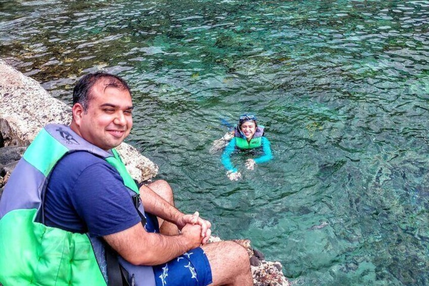 Kayak Snorkel Capt. Cook Monu. See Dolphin in Kealakekua Bay Big Island (3.5hr)
