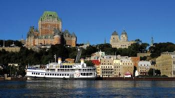 Ciudad de Quebec y cascadas de Montmorency