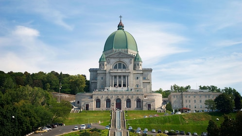 Exterior of St. Joseph's Oratory of Mount Royal in Canada