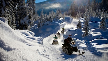 Wilderness Ride Snowmobile Adventure (2 Hour Round Trip)