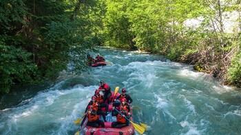 Green River Rafting in Whistler