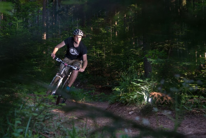 Show item 2 of 8. Skakavac Waterfall Mountain biking trip