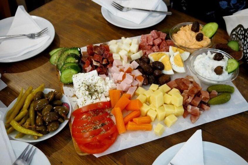 Traditional Cuisine & Cultural Flavours - City Walking Food Tour Paphos 3hrs