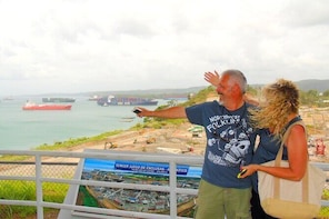 Cruiseline Excursion Colon: Rainforest, San Lorenzo Fort and Canal Expansio...