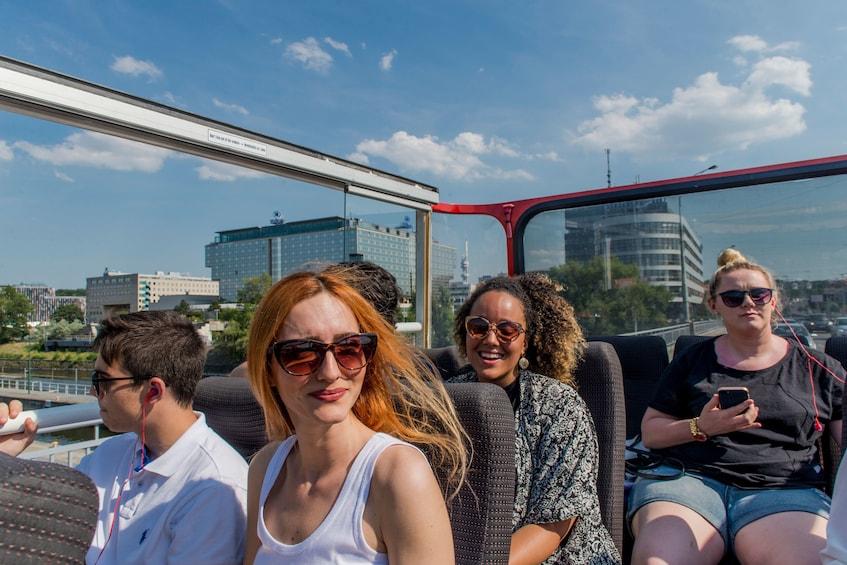 Show item 4 of 9. Prague Hop-On Hop-Off Bus + Walking Tour Options