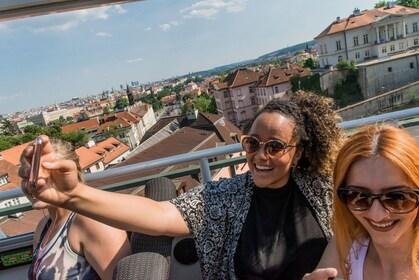 Prague Hop-On Hop-Off Bus + Walking Tour Options