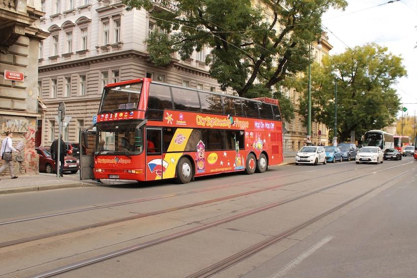 Show item 1 of 9. Prague Hop-On Hop-Off Bus + Walking Tour Options