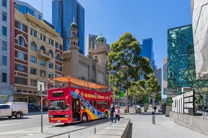 Melbourne Hop-On Hop-Off Bus Tour + Optional Attractions