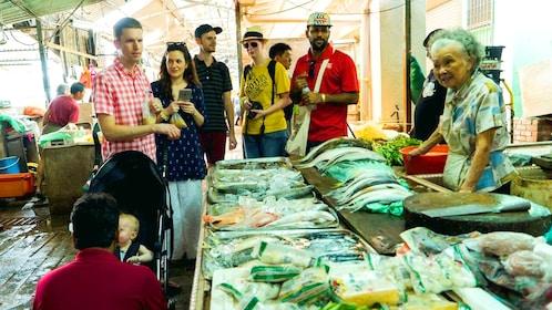 Fish market in Kuala Lumpur