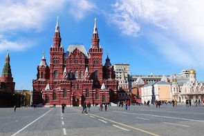 GERMAN Private Tour: Moscow In One Day Sightseeing